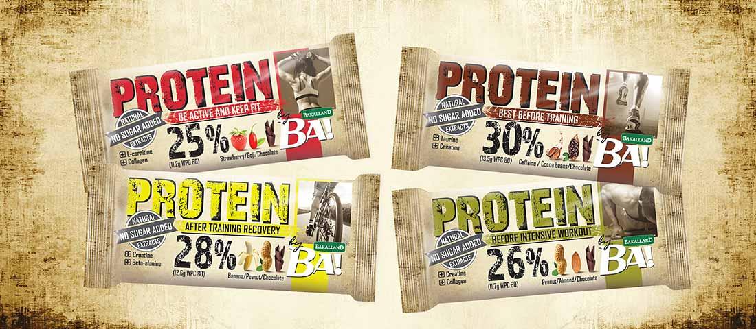 Nowość – Batony proteinowe by Bakalland BA!