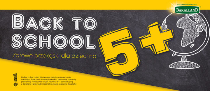 Back to school – zdrowe przekąski dla dzieci – infografika Bakalland