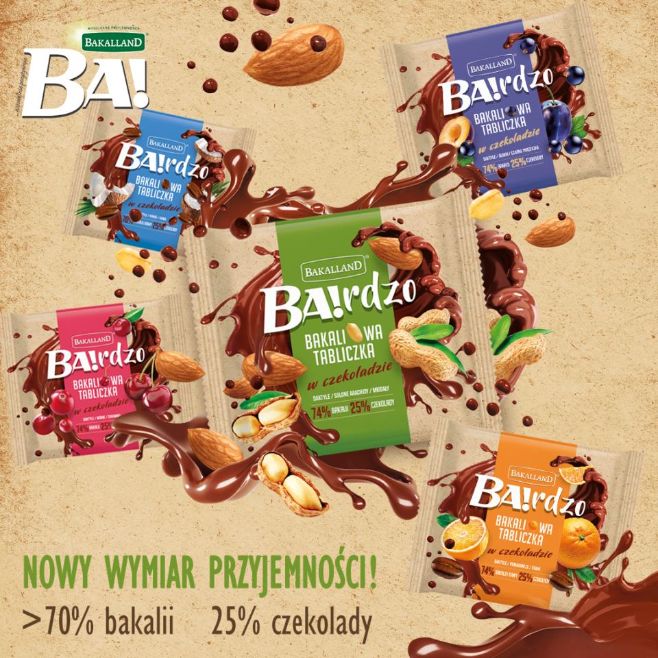 Produkty Bakalland ogłoszone Perłami Rynku FMCG