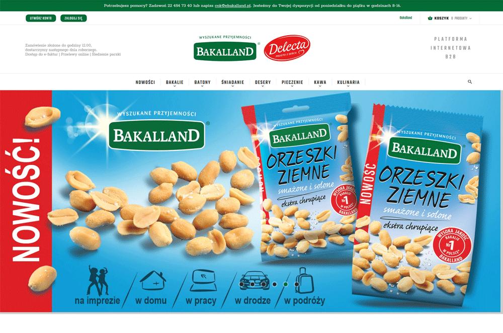 Platforma hurtowej sprzedaży bakalii - eBakalland.pl