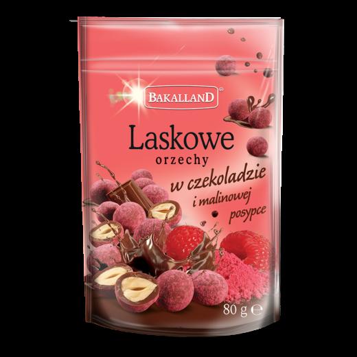 Laskowe w czekoladzie i malinach 80 g