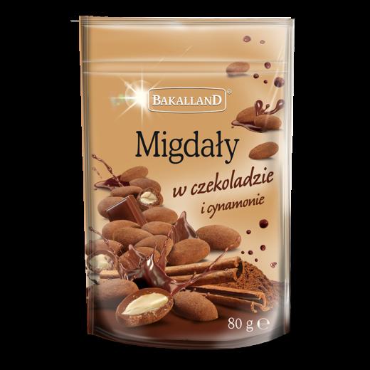Migdały w czekoladzie i cynamonie 80 g
