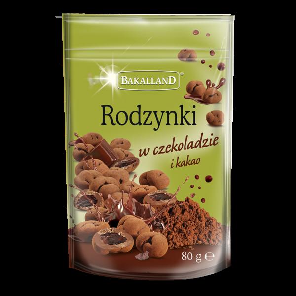 Rodzynki w czekoladzie i kakao 80 g