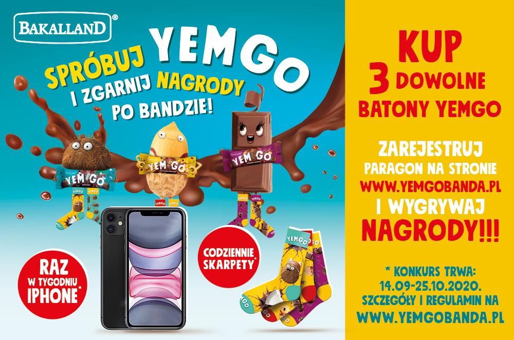 YEMGO - nowość w batonach
